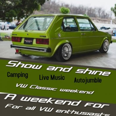 VW and classic car show